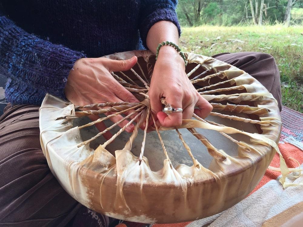 Medicine Drum Making Workshop - Wilson's Creek NSW