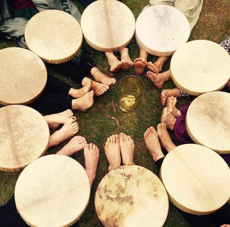 Medicine Drum Making 550ad5a92